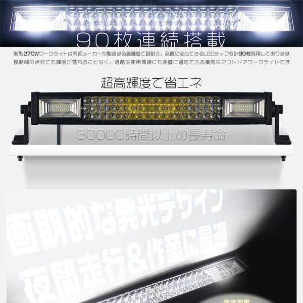 最大30P&500円OFFLED作業灯 120W LEDワークライト LED サーチライト PL保険 40枚チップ LED投光器 IP67 防水 重機 1年保証 1個|hikaritrading1|03