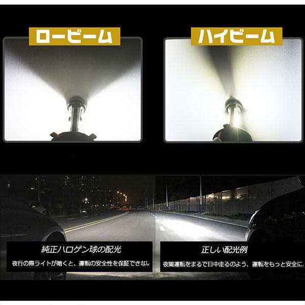 送料無料 LED ヘッドライト フォグランプ CREE XHP50チップを凌ぐ 19200LM H4 Hi/Lo H7/H8/H11/H16/HB3/HB4 12V 車検対応 2年保証 即納 2個セットW2 hikaritrading1 03