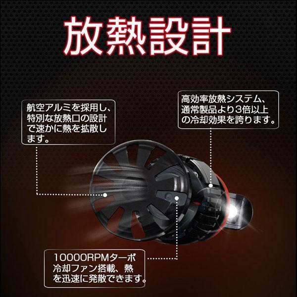 送料無料 LED ヘッドライト フォグランプ CREE XHP50チップを凌ぐ 19200LM H4 Hi/Lo H7/H8/H11/H16/HB3/HB4 12V 車検対応 2年保証 即納 2個セットW2 hikaritrading1 04