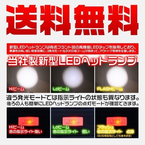 a特売 LED ヘッドライト 充電式 ヘッドランプ 懐中電灯 5灯発光 4モード MAX8000ルーメン ボディーセンサー 120°調整 防水 登山 釣り キャンプ 送料無1個YXF|hikaritrading1|03