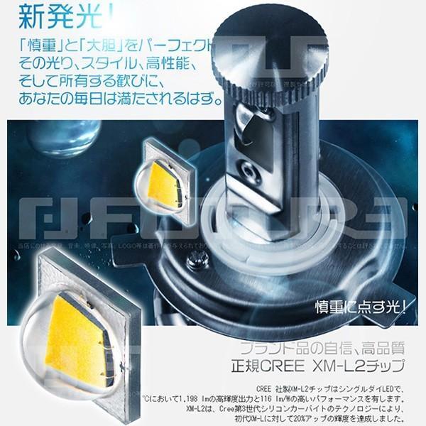 3%クーポンLEDヘッドライト フォグランプ 9600lm二面搭載 X-LED CC H1 H3 H4 H8 H11 HB3 HB4 5500k/2個v|hikaritrading1|02