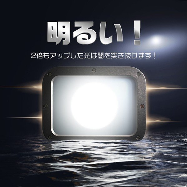 新型KTシリーズ LED投光器 50w led作業灯 10750lm 2倍明るさ保証 業界独自安全第一対策 3mコード アース付きプラグ PSE PL 昼光色 1年保証 1個YHW-I|hikaritrading1|02