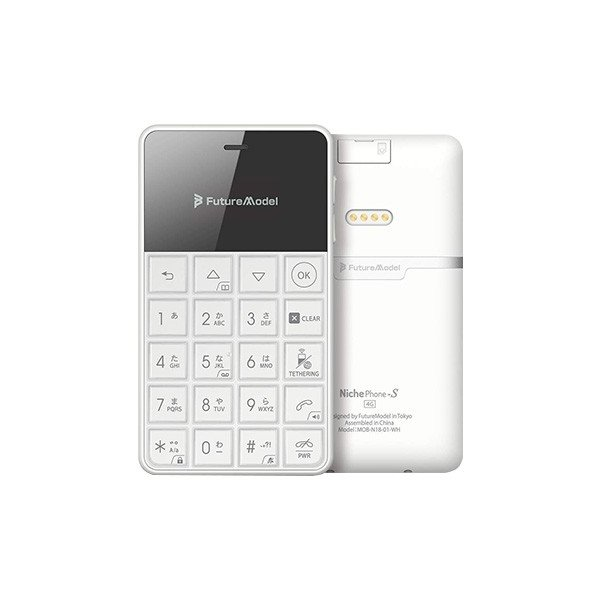 フューチャーモデル NichePhone-S 4G ホワイト MOB-N18-01-WH /【Buyee