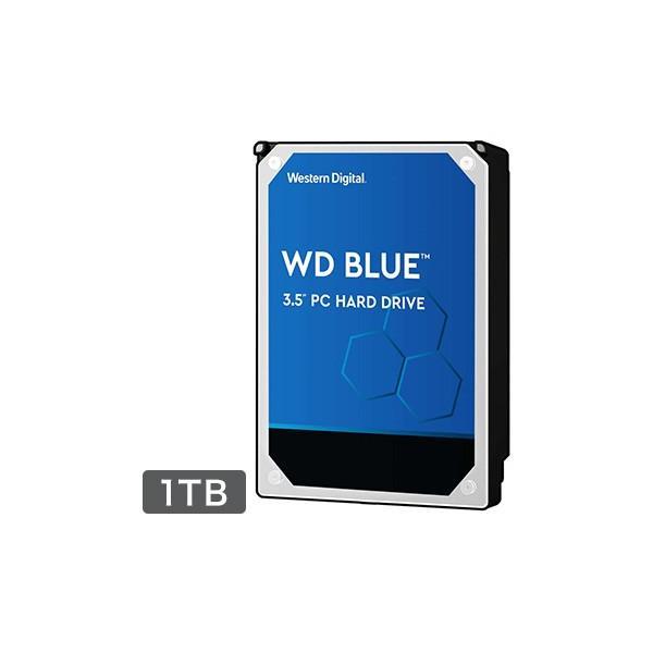 WESTERNDIGITAL 内蔵ハードディスク PC用途向け 1TB 3.5インチ Blue 2年保証 WD10EZEX