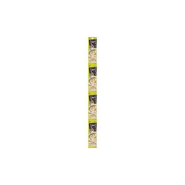 ペットライン 株式会社 ■キャネット 3時のスープ しらす添えかつおだしスープ風 100g(25g×4連)