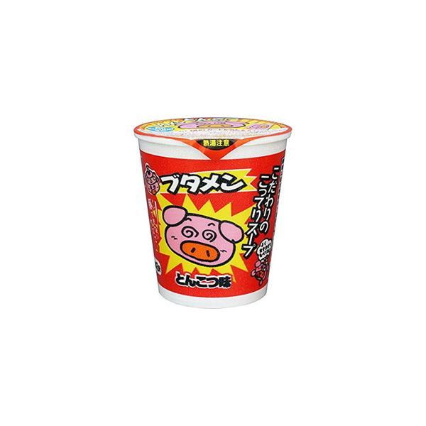 おやつカンパニー ブタメン  とんこつ味  カップ  37g  x  15