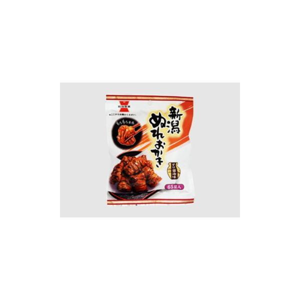 岩塚製菓 新潟ぬれおかき  65g  x  10