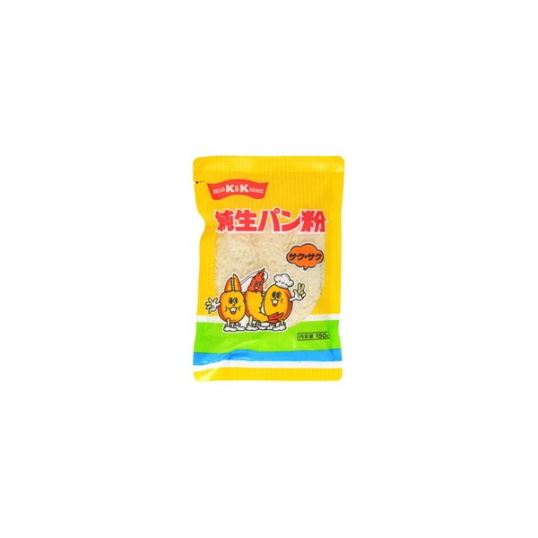 K&K  純生パン粉  サクサク  150g  x  20
