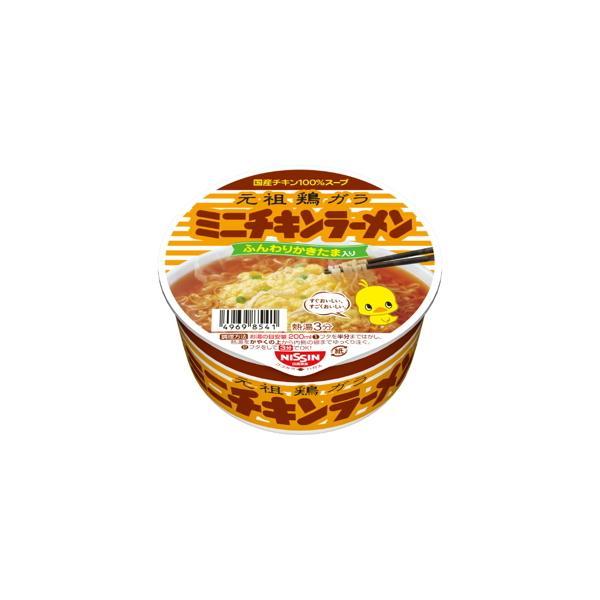 日清食品 チキンラーメン  どんぶりミニ  38g  x  12