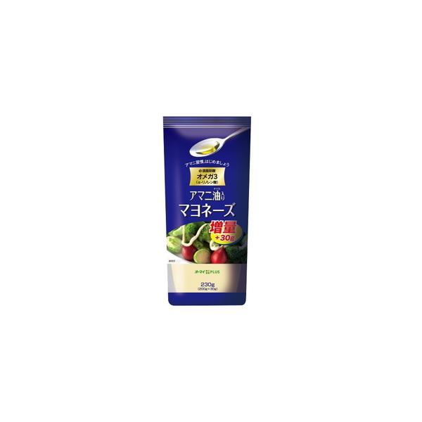 日本製粉 オーマイ  PLUS  アマニ油マヨネーズ  200g  x  12