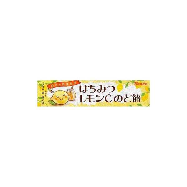 カンロ はちみつレモンC のど飴 11粒 x 10個