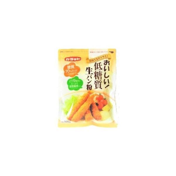 大川 カラット おいしい低糖質生パン粉 100g x 15個