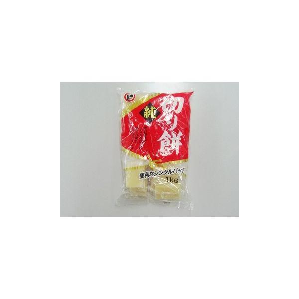 日本もち 純切り餅 シングルパック もち粉使用 1Kg x 10個