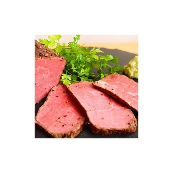高橋畜産食肉 蔵王牛ローストビーフ詰合せ 600g(プレーン バジル 山椒各200g) TW3050244272