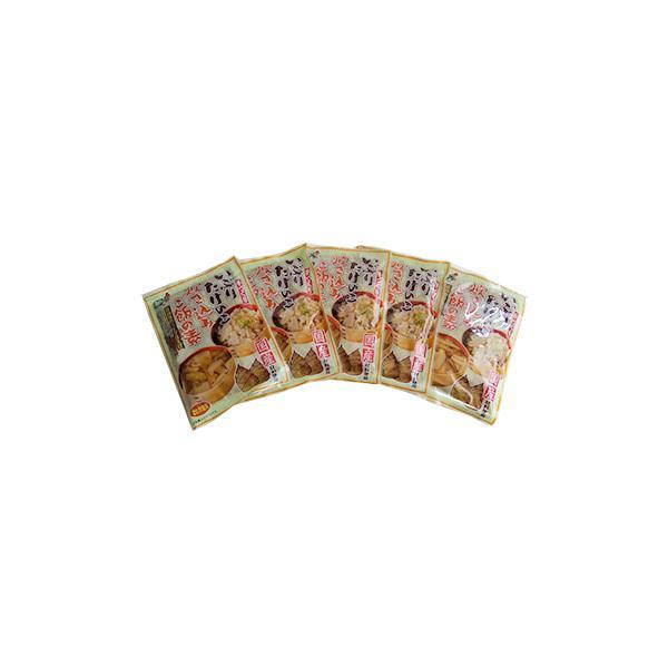 株式会社マルイシ食品 (お徳用)いぶりたけのこ 炊き込みご飯の素 2合用 濃縮タイプ×5袋 比内地鶏スープ仕立て
