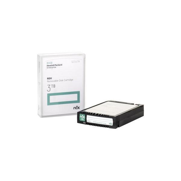 HP HPE RDX 3TB リムーバブルディスクカートリッジ Q2047A