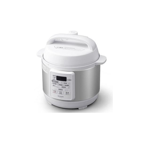 アイリスオーヤマ電気圧力鍋3.0LホワイトPC-EMA3-W
