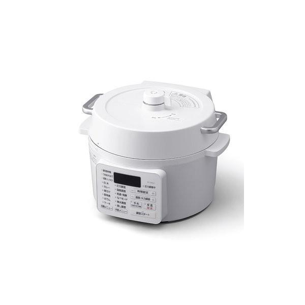 アイリスオーヤマ電気圧力鍋2.2LホワイトPC-MA2-W