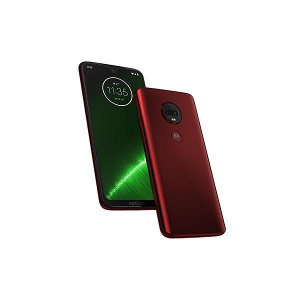 Motorola スマートフォン Moto G7+ ビバレッド PADU0002JP