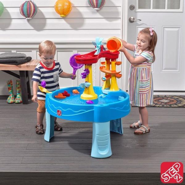 在庫あり/即納/送料無料 ステップ2 アーチウェイ フォールズ ウォーターテーブル STEP2 Archway Falls Water Table シーサイド シャワー costco