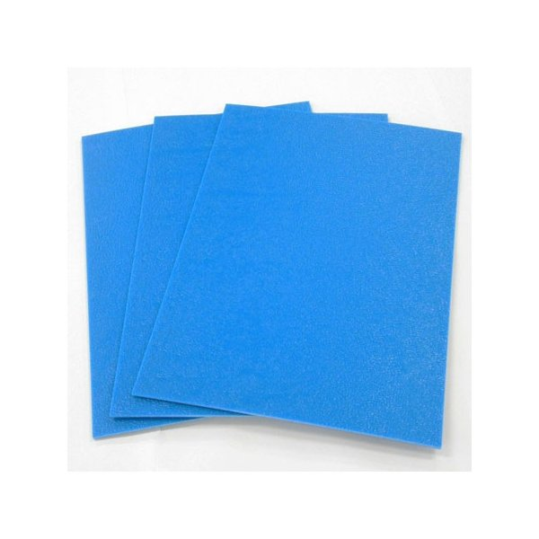 ブルベニ 厚さ3mm 900×1800mm 5枚セット  青ベニヤ プラベニヤ