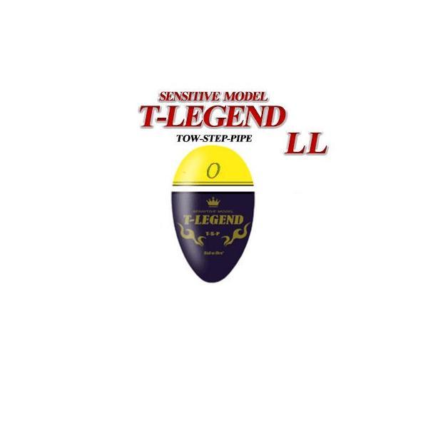 ソルブレ ティーレジェンド イエロー LLサイズ 中通し(円錐)ウキ Sal-u-Bre T-LEGEND:Yellow LLsize