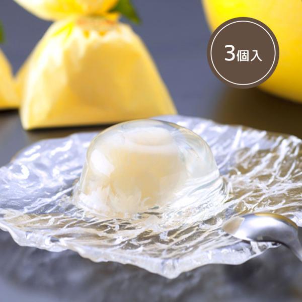 ゼリー 晩白柚 熊本県産 八代産 洋菓子 スイーツ みかん みかんゼリー 3個入