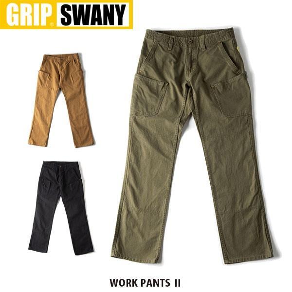 75e2e45622b3 グリップスワニー ワークパンツ 2 GSP-12 パンツ ボトム ボトムス ロングパンツ カーゴパンツ ズボン メンズ レディース GRIP SWANY  GSP12
