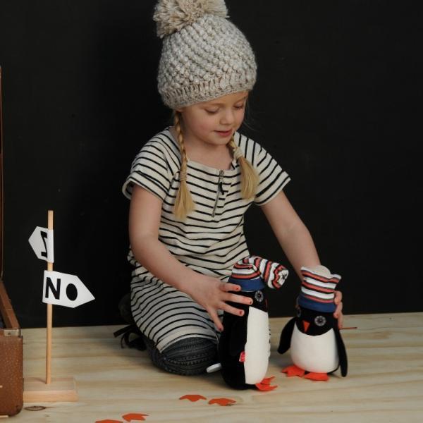 SALE 30%OFF esthex エステックス ペンギン ぬいぐるみ  ジョージ 人形 Penguin Georges おしゃれ かわいい 出産祝いや誕生日のプレゼントに!|hilcy|04