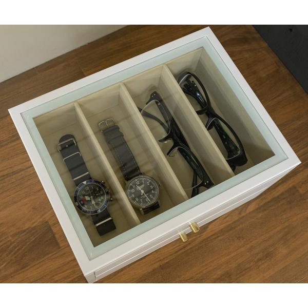 メガネ専用収納ボックス8個収納眼鏡コレクションケース|himalaya|02