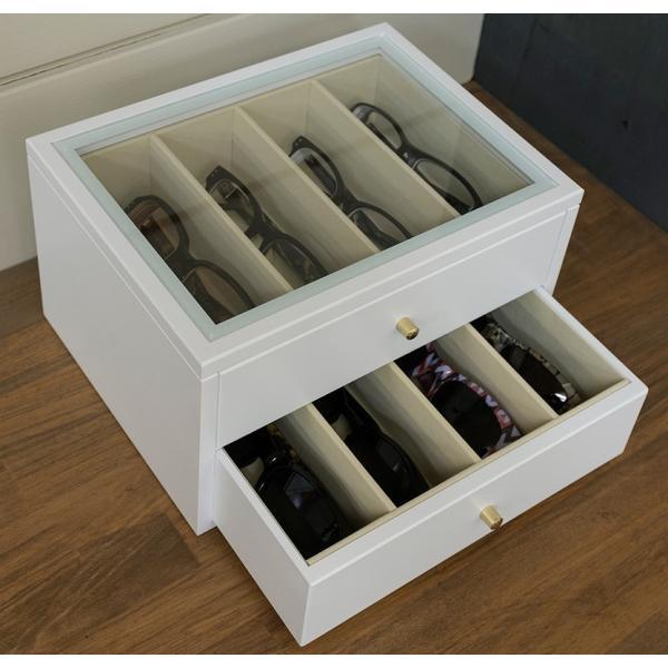 メガネ専用収納ボックス8個収納眼鏡コレクションケース|himalaya|07
