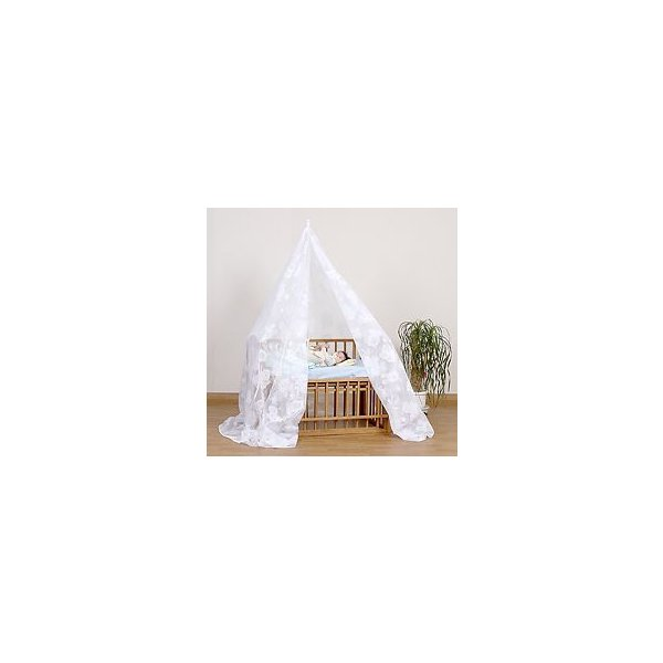 ベビーベッド用蚊帳ウォッシャブル(天蓋)どうぶつ柄 高級ジャガードレース仕様  蚊よけ 虫除け 動物柄 himebaby|himalaya