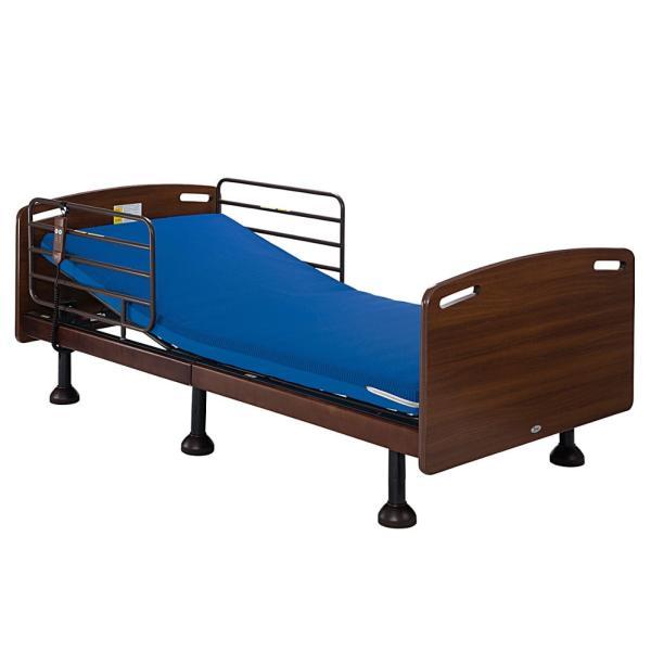 電動リクライニングベッド介護ベッドシングル2分割構造搬入簡単