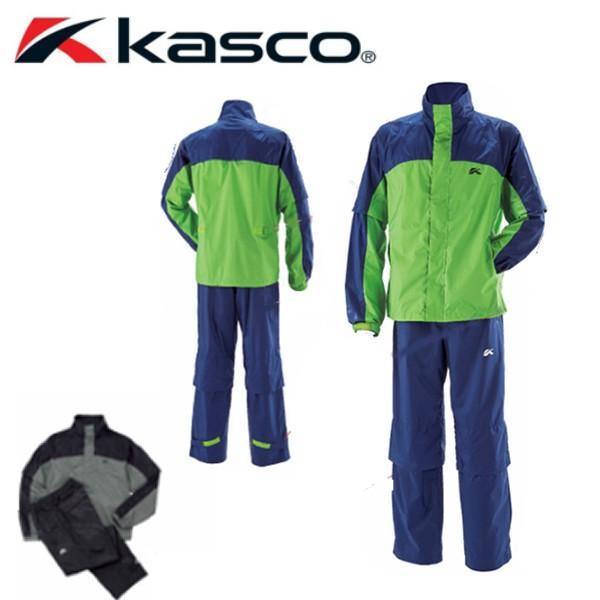 キャスコKascoゴルフウェアメンズセットレインウェア上下セットKRW-016