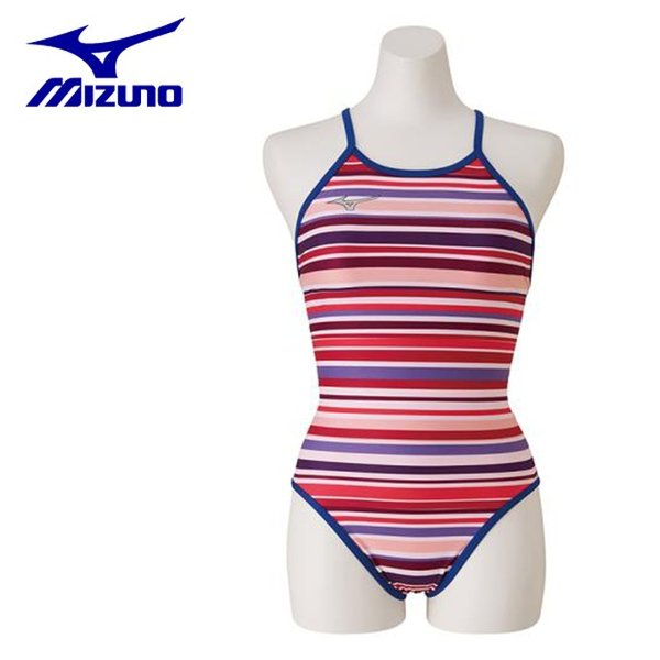 873d61bb4b4 ミズノ トレーニング水着 レディース 競泳練習用 Rikako Ikee Collection ミディアムカット N2MA9760-67 MIZUNO