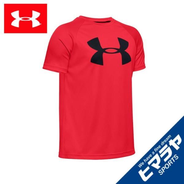 アンダーアーマーTシャツ半袖ジュニアUAテックビッグロゴショートスリーブトレーニングBOYS1351850-600UNDERAR