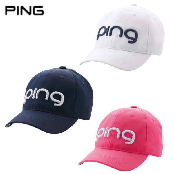 ピンPINGゴルフキャップレディースHW-L201LADIESTOURCAPツアーキャップ35346