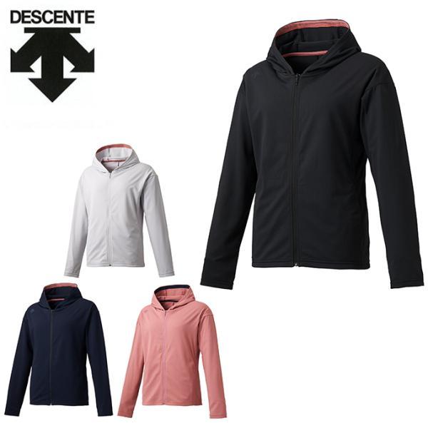 デサントDESCENTEパーカーレディースサンスクリーンシャツパーカーDMWQJC20