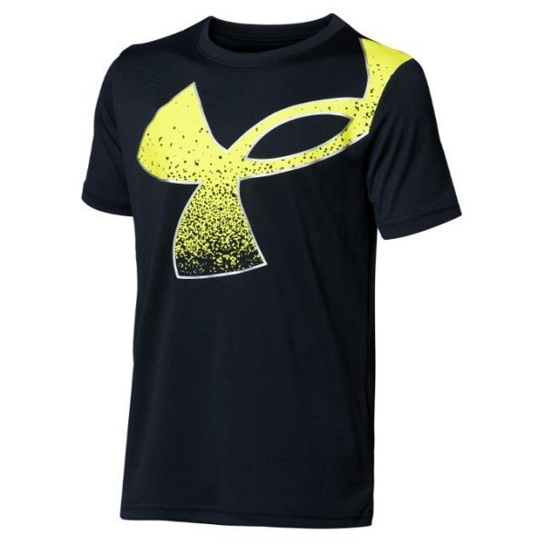 アンダーアーマーTシャツ半袖ジュニアUAテックスプラッターシンボルショートスリーブ1364226-001UNDERARMOUR