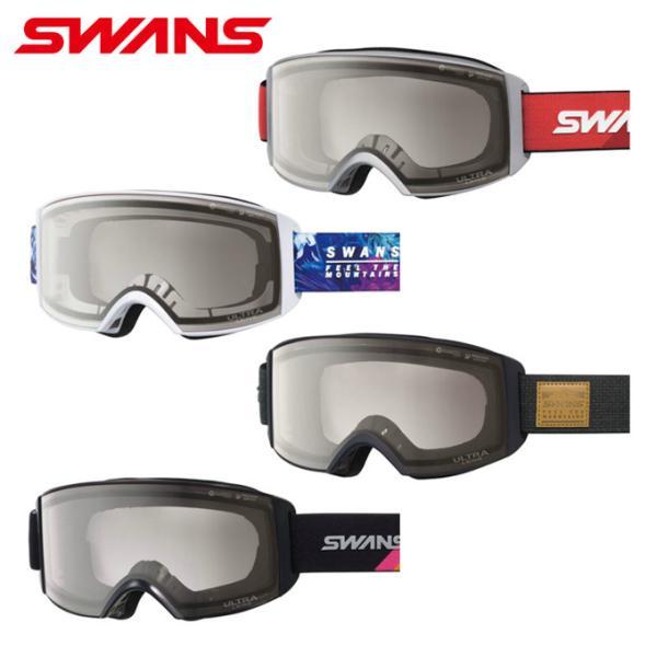 スワンズ SWANS スキー スノーボードゴーグル 眼鏡対応 メンズ レディース ULTRAレンズ メガネ対応 ラカン RACAN-MDH-UL