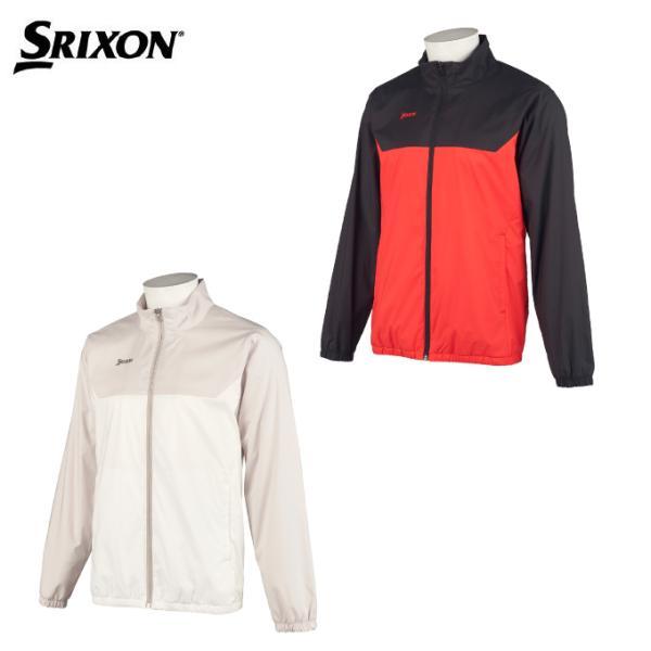 スリクソン SRIXON ゴルフウェア ブルゾン メンズ 起毛裏地ソロテックスウインドジャケット RGMSJK05