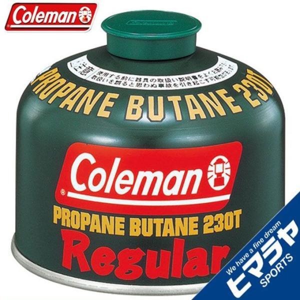 コールマン ガスカートリッジ 純正LPガス燃料[Tタイプ]230g 5103A230T coleman od