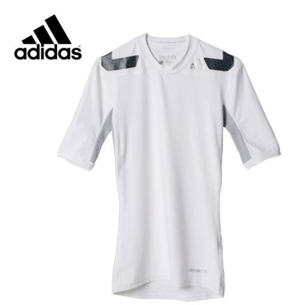 アディダス サッカーウェア インナー メンズ テックフィット POWER ショートスリーブ KBC86 AJ4890 adidas sc|himarayasc