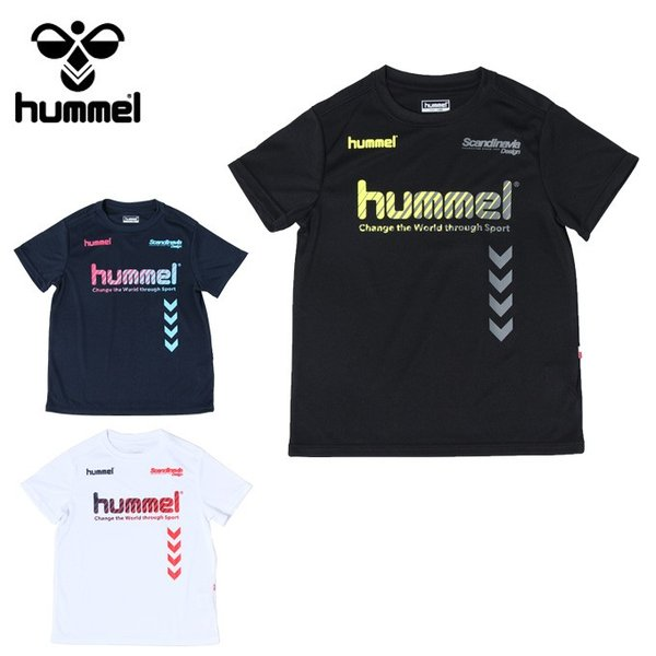 ヒュンメル hummel サッカーウェア 半袖シャツ ジュニア プラクティス HJP4124HM sc|himarayasc