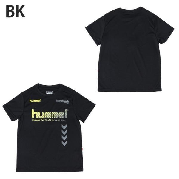 ヒュンメル hummel サッカーウェア 半袖シャツ ジュニア プラクティス HJP4124HM sc|himarayasc|02