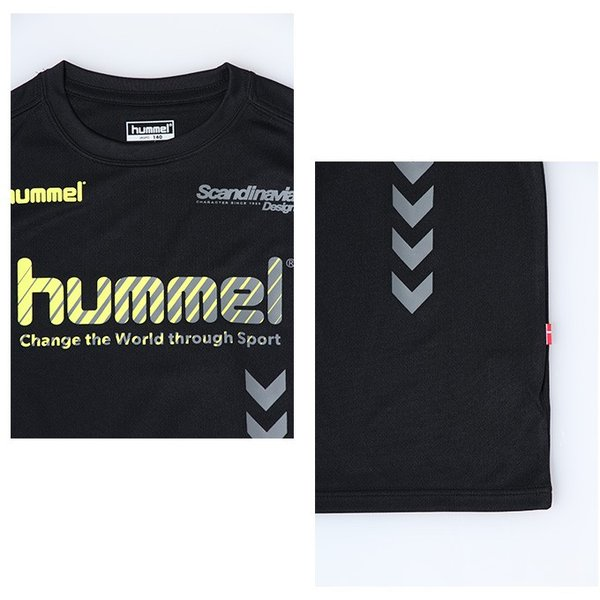 ヒュンメル hummel サッカーウェア 半袖シャツ ジュニア プラクティス HJP4124HM sc|himarayasc|04