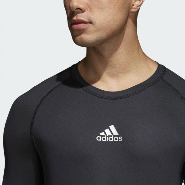 アディダス adidas アンダーウェア 長袖 メンズ ALPHASKIN TEAM アルファスキン チーム ロングスリーブシャツ CW9486 EVN55 sc himarayasc 05