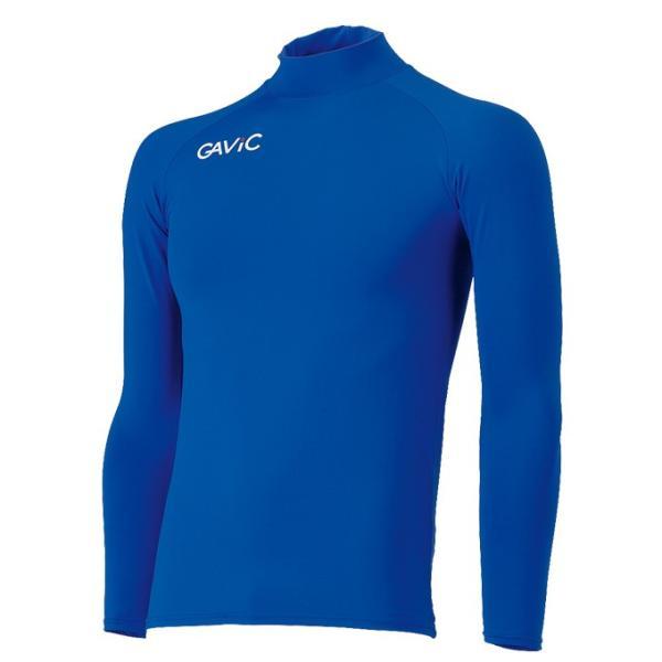 ガビック GAViC サッカー アンダーウェア 長袖 ストレッチインナーシャツ ブルー 青 GA8301-BLU sc|himarayasc