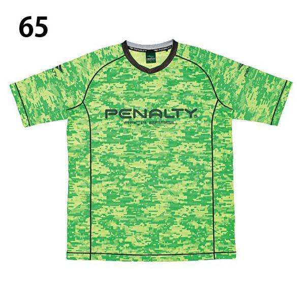 ペナルティー Penalty サッカーウェア プラクティスシャツ 半袖 メンズ ベンチレーションカモ・ロゴTシャツ PU8006 sc|himarayasc|02