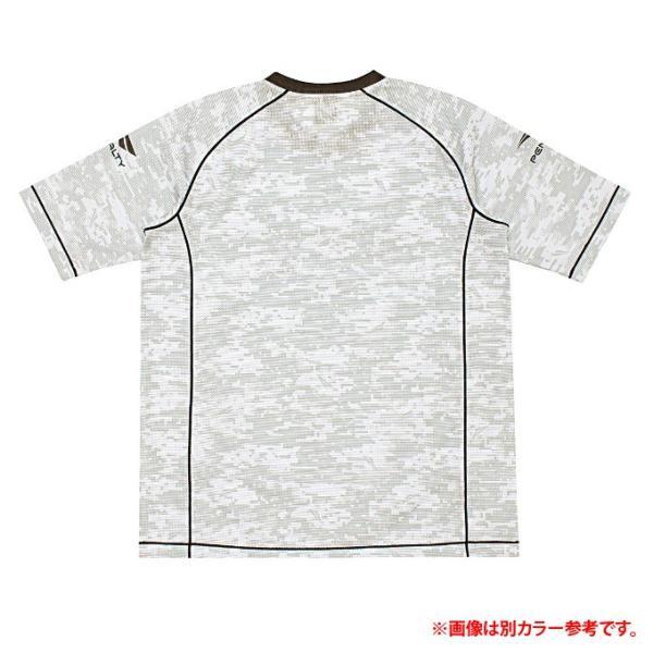 ペナルティー Penalty サッカーウェア プラクティスシャツ 半袖 メンズ ベンチレーションカモ・ロゴTシャツ PU8006 sc|himarayasc|05